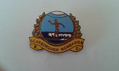 Badge Scarborough Womearra Bowling Club with pin