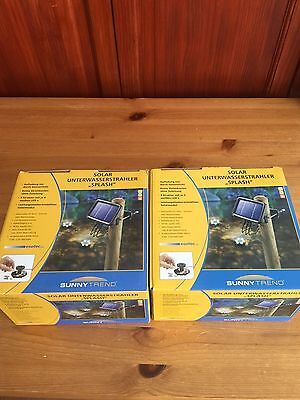 2 Box Of solar lights (For Under Water Pound)