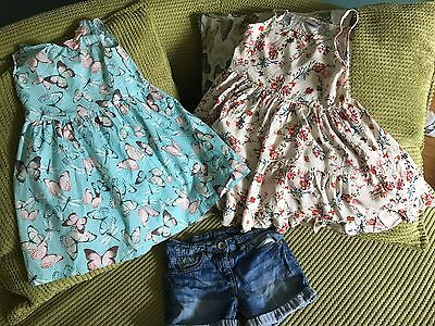 Girls' Summer Clothes Bundle, Next and H&M