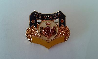 Badge N.S.W.W.B.A. with pin