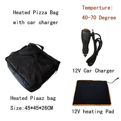 Pizza delivery Bag Heated
