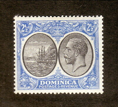 Dominica--#72 MH--King George V/Colony Seal--1928