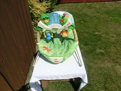Fisher Price Forest Friends Deluxe Baby Bouncer/cradle