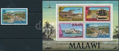 Malawi stamp Means of transport closing value+block MNH 1977 Mi 284 +48 WS227273