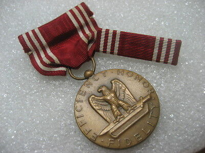 Medal US Army GOOD CONDUCT MEDAL and Medal Bar,ww2