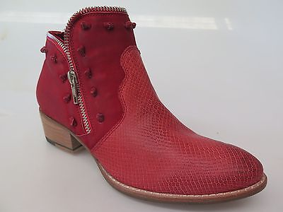 Django & Juliette - new ladies leather ankle boot size 37 #178