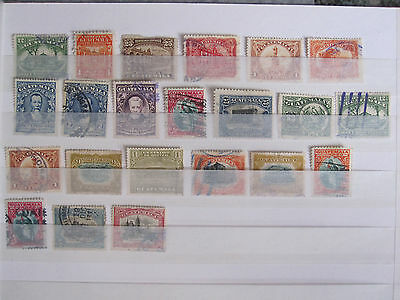 Guatemala - collection of 22 used stamps - slight duplication