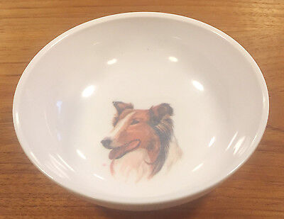"Vintage Lassie TV Show Advertising Melmac 8209-12 Cereal Bowl 5 1/2"" Boonton"