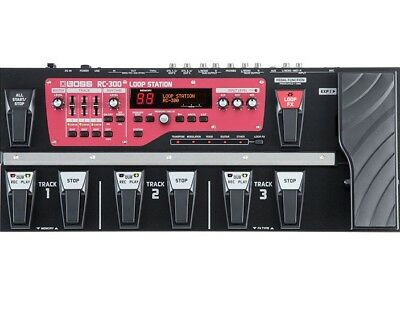 BOSS RC-300 - Triple Stereo Loop Station Sampler Pedal RC300