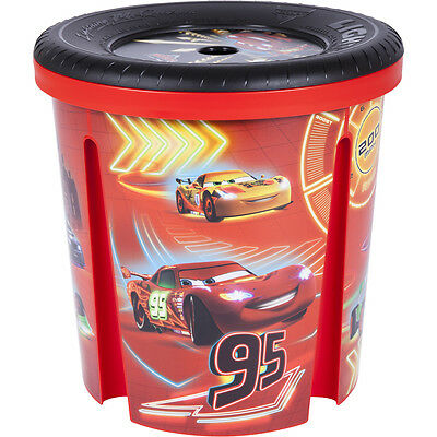 Disney Cars Toy Storage Large Clothes Box Childrens Kids Boys Girls Tidy 45L
