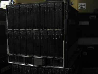 HP Proliant Blade Server 10 x BL2x220c G5  in C7000 chassis