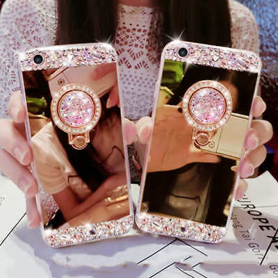pour Coque iphone 6 6S Samsung Galaxy Paillettes Diamant Bling Bling Luxe housse
