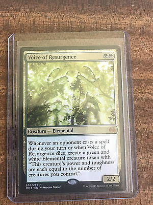 Voice of Resurgence - Mythic Rare - Modern Masters 2017 - Near Mint - MTG