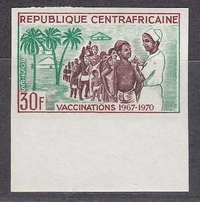 Central Africa, Vaccination 1967.  Imperf.   MNH.