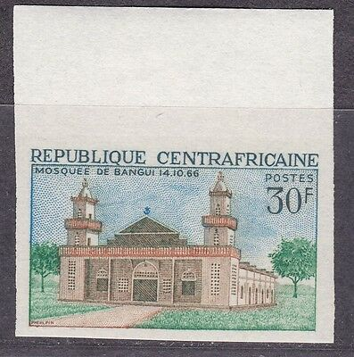 Central Africa, Mosque. 1968  Imperf.   MNH.