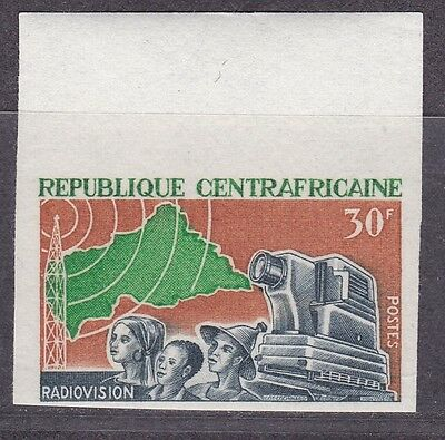 Central Africa, Cinema 1967.  Imperf.   MNH.