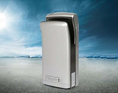 Silvery Plastics Wall Mounted Automatic Induction Super Quiet Hand Dryer Machine
