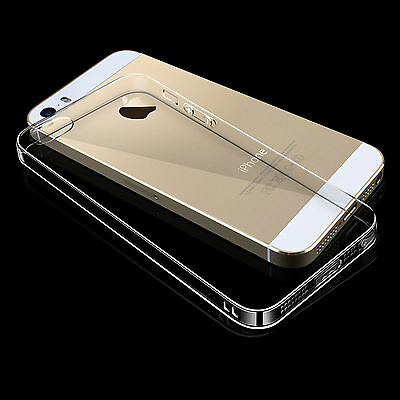 Ultrathin Soft Case Back Cover TPU for Apple iPhone 5 5S SE Transparent ARL3 1