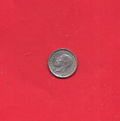 RARE 1926 George V REAL SILVER Sixpence - Excellent  CONDITION LOOK