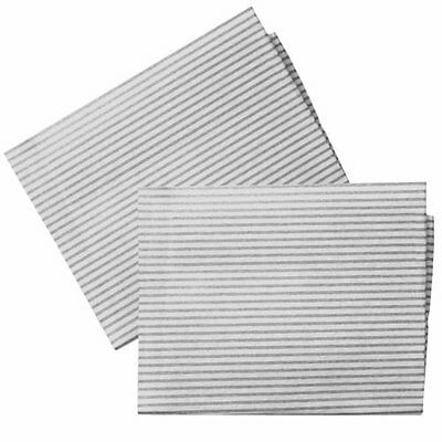 2 x Cut to Size Cooker Hood Extractor Fan Grease Filter for Hygena