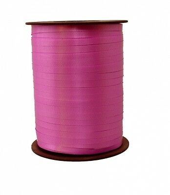 Gift Ribbon pink 10mm x 250m Polyband ribbon Ring tape