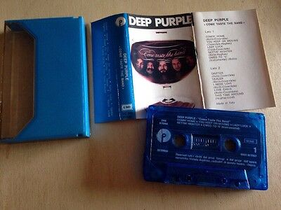 Deep Purple - Come Taste The Band MC Cassette Tape 3c24497044 Made In Italy