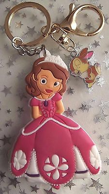 Princess Sofia  ,Bunny Rabbit  Large Strong  Keyring  ,[ Gift Bag ] Birthday
