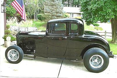 1932 Ford 5w Coupe  Real Henry Ford,All Steel 1932 Ford,5w coupe,Black