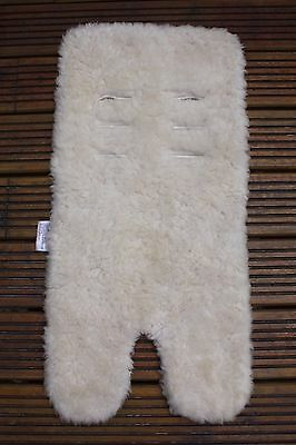 Outlook Sheep Wool Universal Pushchair Seat Liner in Excellent Cond - Sheepskin