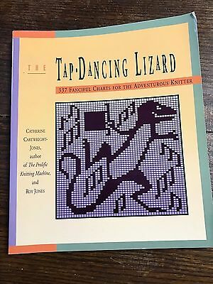 The Tap Dancing Lizard 337 Fanciful Charts for Knitting Machines paperback 176 p