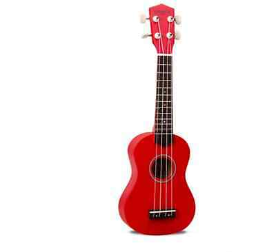 Red 21 inches Basswood Beginners Preferred Musical Instrument Ukulele