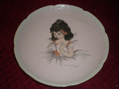 Brownie Downing Large 20cms Wall Plate