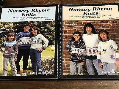 1991 Nursery Rhyme Knits for Hand, Punchcard & Electronic Knitting Machine Books