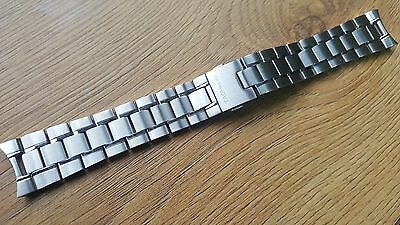 New Mens 22Mm Stainless Steel Watch Strap Bracelet For Tag Heuer Sports Watches