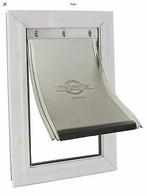 Extra large Aluminium Robust Dog Flap