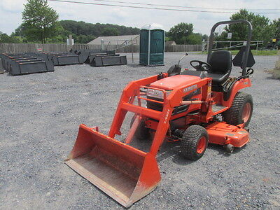 "2007 Kubota BX2230 4x4 Compact Tractor w/ Loader & 60"" Belly Mower!"