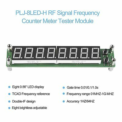 PLJ-8LED-H RF Signal Frequency Counter Meter Tester Module LED/Screen