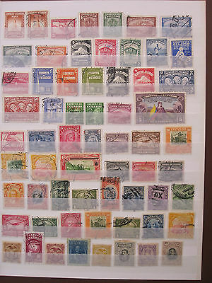 Ecuador - collection of over 250 mint & used stamps - see notes