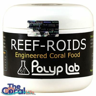 POLYP LAB REEF ROIDS 4oz CORAL FOOD AND NUTRITIONAL SUPPLEMENT for REEF AQUARIUM