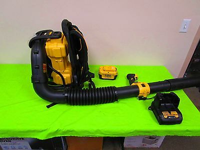 DEWALT 40V MAX Li-Ion XR Brushless Backpack Blower w/one 7.5Ah DCBL590X2