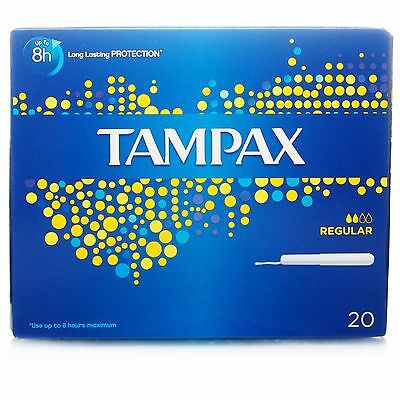 Tampax Applicator Tampons Regular (20) *S*