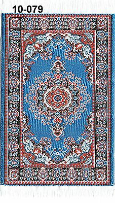12th Scale Turkish Rug ,Doll House Miniature, Many Colours and Patterns