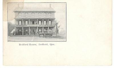 1900's PPC - View of The Bedford House - Bedford, Quebec
