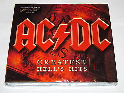 AC/DC Greatest Hits Hell's 2CD Digipak Best Rock Or Bust