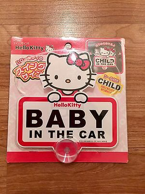 Brand New Package - Hello Kitty Baby In Car Sanrio Japan
