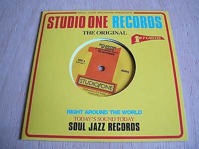 """the abyssinians  declaration of rights  2017 studio one vinyl 7"""" 45  mint"""