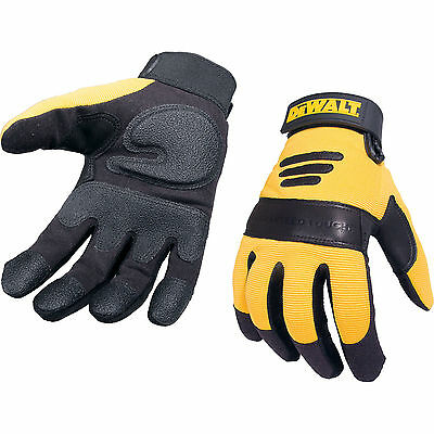 DeWalt Performance 2 Synthetic Padded Leather Gloves L
