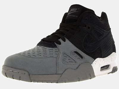 New Nike Air Trainer 3 LE Training Shoes Grey Black White Size 11
