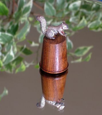 Thimble - Woodland Animals - Silver Squirrel