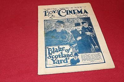 Boys Cinema Comic 89 Years old Dated January 21st 1928 No 423 Very Rare Find